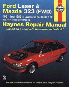 automobile air conditioning repair 1987 ford laser parking system ford laser mazda 323 1981 1989 workshop manual