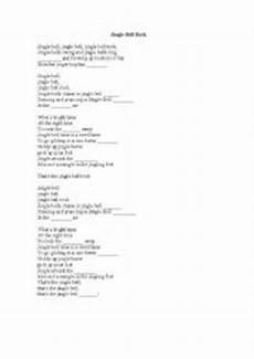 jingle bell rock worksheets