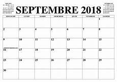 Calendrier Septembre 2018 2019 Le Calendrier Du Mois