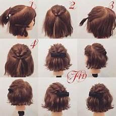 10 Belles Coiffures Faciles Sur Cheveux Courts Hair