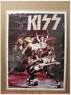 medium vintage original rock band concert poster
