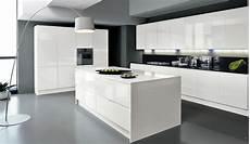 cuisine blanc laqué ikea cuisine blanche avec 238 lot central deco maison en 2019