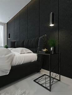 interior design in black black and white interior design ideas modern apartment by
