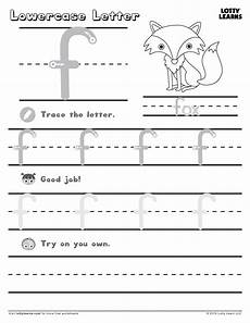 letter f tracing worksheets for preschool 23592 lowercase letter f lotty learns lowercase a lower letters learning letters