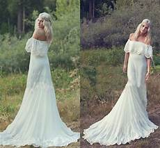 discount 2015 bohemian styles a line cheap wedding dresses