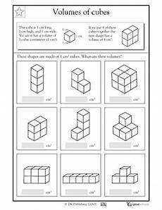 great for beginners volume worksheet math pinterest