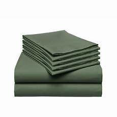 luxury comfort rayon from bamboo 6 pc bed sheet