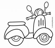 transportation coloring worksheets 15179 scooter transportation coloring pages for printable free coloring pages