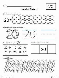 counting numbers to 20 worksheets 8045 number 20 practice worksheet preschool number worksheets printable preschool worksheets