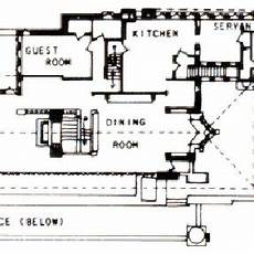 robie house floor plan floor plan of the robie house s first floor source