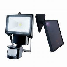 nature power black outdoor solar motion sensing security light with advance led technology 22260