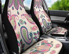perfectly peaceful designer peace design car seat covers pair 2 front seat