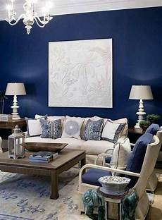 Navy Blue Home Decor Ideas by Navy Blue Decor Blue Accent Wall With Fabric And