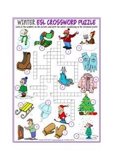winter vacation esl worksheets 19994 winter esl printable vocabulary worksheets