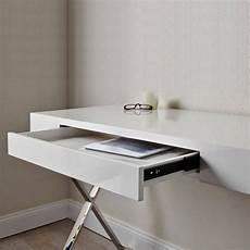 designer schreibtisch weiß design schreibtisch laptoptisch weiss hochglanz