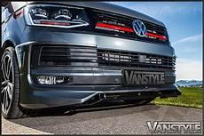 vw t6 abt abt lower front lip spoiler vw t6 2015 vanstyle