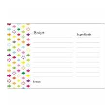 recipe card template for word mac templates multi color design recipe cards on postcards