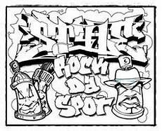 graffiti malvorlagen pdf zeichnen und f 228 rben