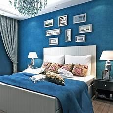 bacaz all blue wallpaper solid color wallpaper rolls for