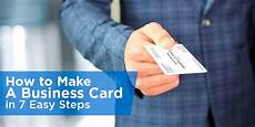 How To Make A Business How To Make A Business Card In 7 Easy Steps