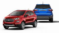 2019 ford 174 ecosport compact suv features big