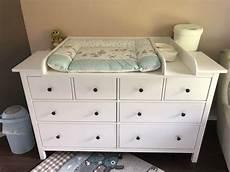 Die Ikea Hemnes Kommode Als Wickelkommode Verwendet Baby
