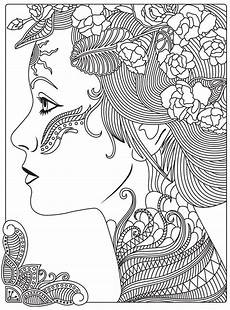 Mandala Frau - 478 best coloring pages for grown ups coloring pages