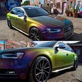 China Color Changing Wrap Chrome Mica Powder Chameleon