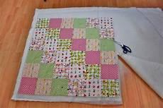 patchworkdecke quilten anleitung wie eine decke n 228 ht