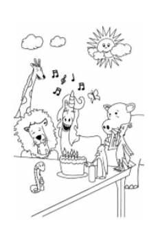 Unicorn Malvorlagen Mp3 Free Printable Unicorn Coloring Pages Unicorn Jazz