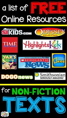 free nonfiction reading websites for kids ela 4th reading websites for kids reading centers