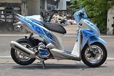 Modifikasi Skotlet Vario 125 by Modifikasi Honda Click 125 Vario 125 By Likit Racing