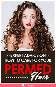 8 simple and effective tips to take care of your permed hair permed hairstyles natural perm hair