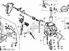 honda trx250 fourtrax 250 1986 g usa parts lists and schematics