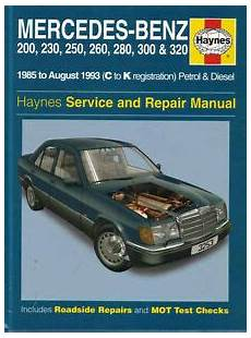 manual repair free 1986 mercedes benz s class auto manual mercedes 124 shop manual service repair book haynes 300e 300te 260e 300d w124 mb ebay