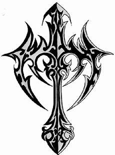 Malvorlagen Wings List Tribal Cross Tattoos