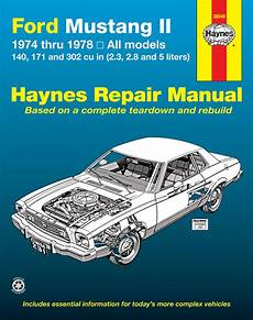 auto air conditioning repair 1974 ford mustang regenerative braking ford mustang ii 1974 1978 4 cylinder v6 v8 haynes repair manual haynes manuals