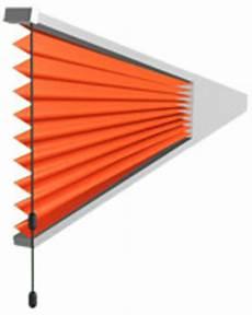 rollo laden plissee dreieck dreiecksfenster