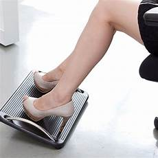 office foot rest ebay foot rest stool office computer desk footrest comfort height angle adjustable au ebay