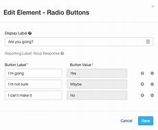 creating rsvp forms mobilecause