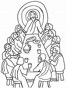 Ostern Malvorlagen Religion Ausmalbilder Bibel 06 Mit Bildern Abendmahl