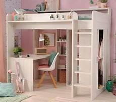 Hochbett Schrank Bett 90x200 Cm Schreibtisch Kinderzimmer