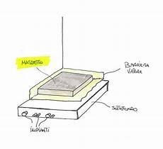spessore massetto pavimento il massetto per le piastrelle caratteristiche importanza