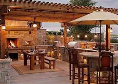 rustic outdoor kitchen designs 40 environment friendly outdoor kitchen ideas to inspire you