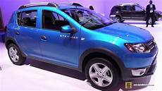 2015 Dacia Sandero Stepway Exterior And Interior