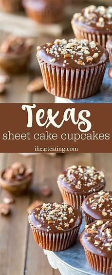texas sheet cake cupcakes i heart eating