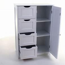 In Drawer Storage by 4 Drawer Cabinet Bathroom Storage Unit Chest Cupboard