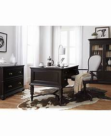 clinton hill ebony home office furniture collection