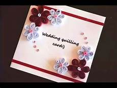diy crafts greeting card how to make quilling wedding
