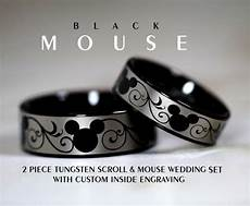 disney finds matching mickey wedding bands mickey